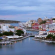 Evening Agios Nikolaos — Stock Video