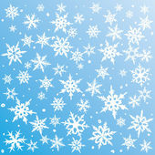 Snowflakes background — Stockvektor