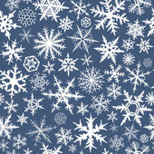 Seamless snowflakes — Stock Vector
