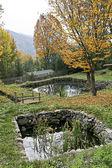 两个小池塘 — 图库照片