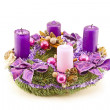 Advent wreath — Foto Stock #16927949