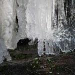 Frozen waterfall — Stock Photo #9489199