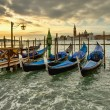 Venice gondolas — Stock Photo #12092631