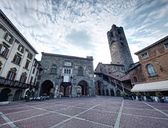 Bergamo old city — Foto de Stock