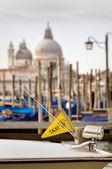 Boat taxi in Venice — Stock Photo