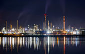 Night industry — Stock Photo