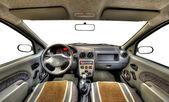 Auto-interieur — Stockfoto