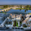 Amboise landscape - Stok fotoraf