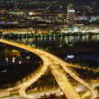 Stock Photo: Vienna city at night