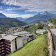 Berchtesgaden mountain resort — Stock Photo