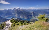 Konigssee lake — Stock Photo
