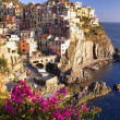 Manarola village - Foto Stock
