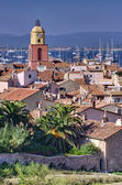 Saint tropez paysage urbain — Photo