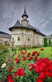 Mosteiro de putna, roménia — Fotografia Stock