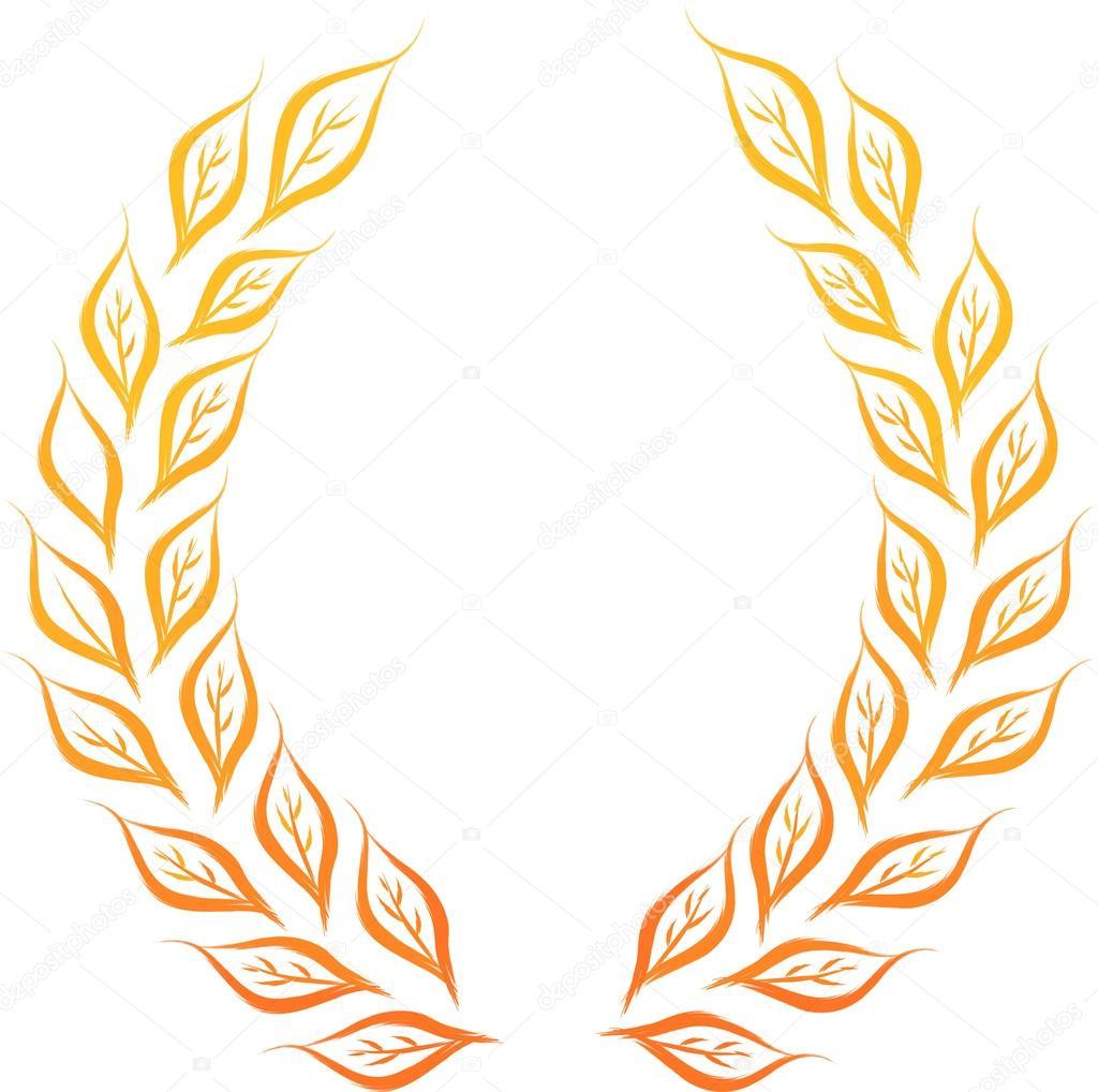 Images about laurel leaf design on pinterest - Coroa De Louros Vetor De Stock 169 Johny007pandp 16357725