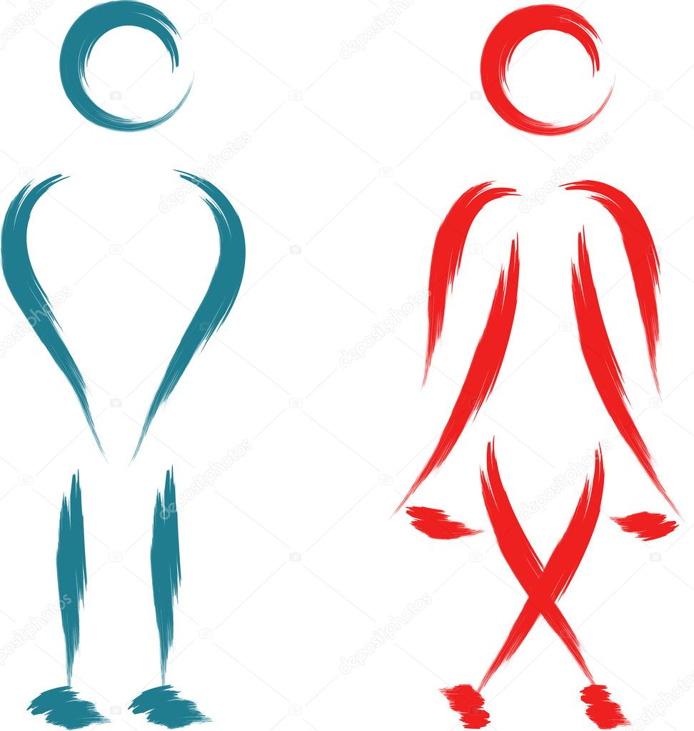 Símbolo de banheiro — Vetor de Stock © johny007pandp #16489785 -> Símbolo Banheiro Feminino