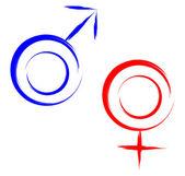 Sex symbols — Stock Vector