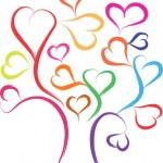 Love tree — Stock Vector #17350639