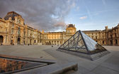 Louvre museum, France — Stock Photo