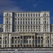 Parliament palace, Romania — Stock Photo
