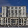 Parliament palace, Romania — Stock Photo