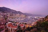 Monaco sunset — Stock Photo