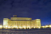 Palace of the Parliament in Bucharest — Stock Photo