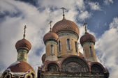 Russian Church — Stockfoto