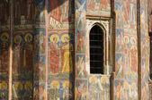 Romanian monastery — Stock Photo