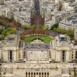 Stock Photo: Paris, Trocadero