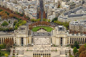 Paris, Trocadero — Stock Photo