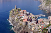 Village of Vernazza, one of the Cinque Terre, Italy — Stock Photo