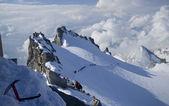 高山山顶 — 图库照片