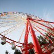 Wheel in the park — Stock Photo