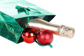 Package for Christmas isolated — Stock Photo