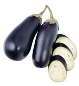 Eggplant isolated — Stock Photo