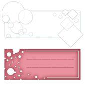 абстрактный красочными баннерами — Стоковое фото