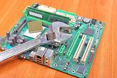 Computer repair the broken, broken — Stock Photo
