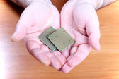 Processors for computer technology — Stock Photo