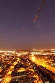 Night city view — Stock Photo