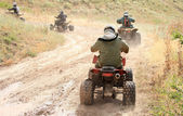 Off-road motorcycling — Stock Photo