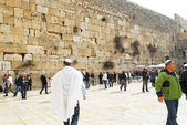 The ancient walls of Jerusalem — Stockfoto