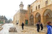 Zobrazení posvátného místa jeruzalém — Stock fotografie