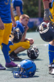 American football players — Stock fotografie