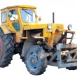 Stock Photo: Vintage tractor isolated