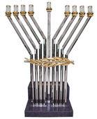 židovské menora - symbolem židovské — Stock fotografie