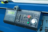 Panel manufacturing machine — Stock Photo