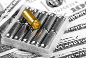 Sale of arms and ammunition — Stock Photo
