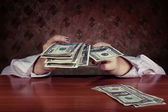 Abstract concept of money — Stock Photo