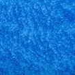 Terry cloth blue background — Stock Photo #34379067
